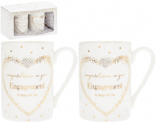 MAD DOTS ENGAGEMENT MUGS